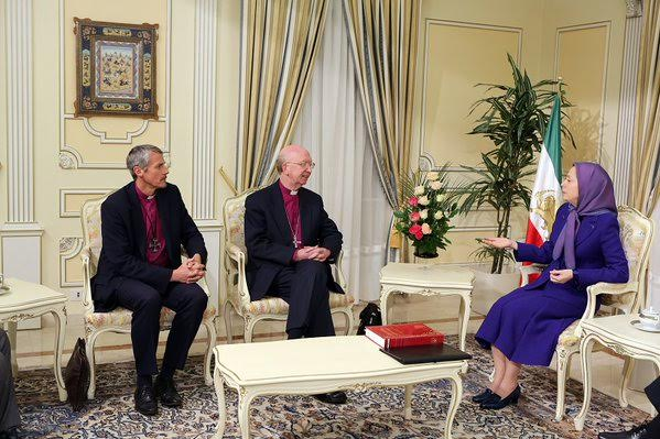 Meeting between UK bishops and president ofNCRI,France,20January