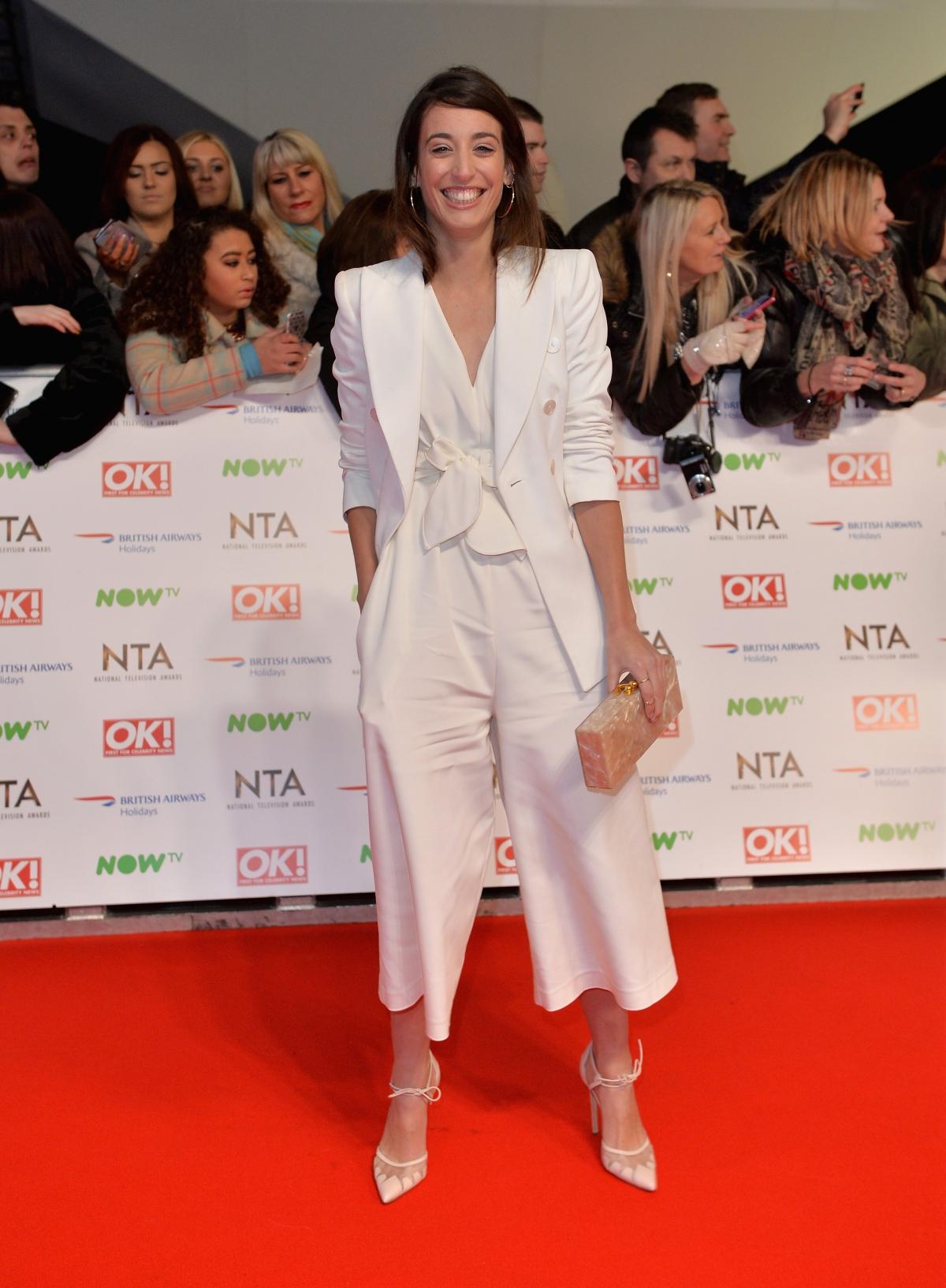 National Television Awards 2016 Red Carpet
