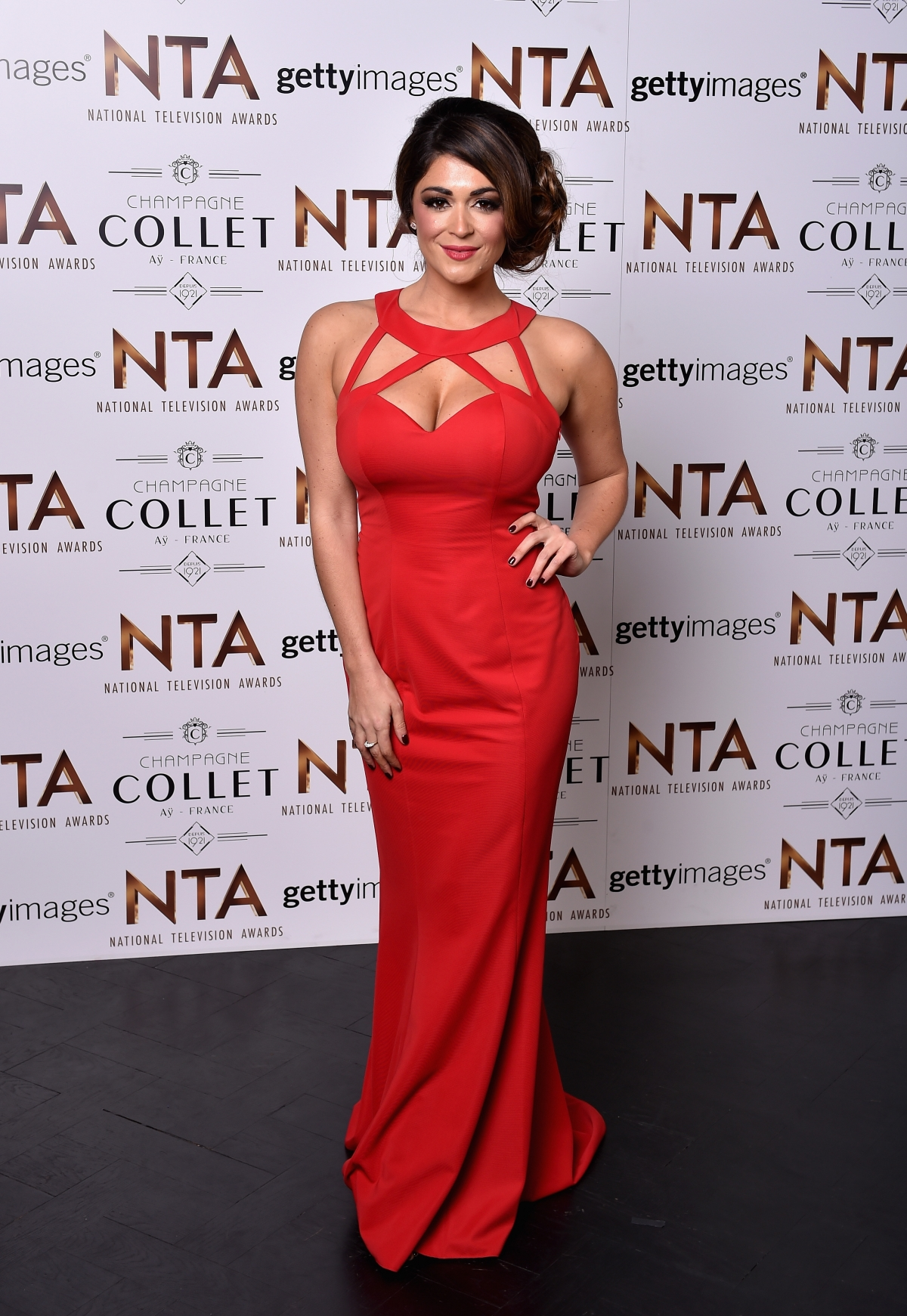 National Television Awards 2016 Red Carpet