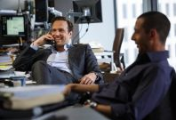 Rafe Spall in The Big Short