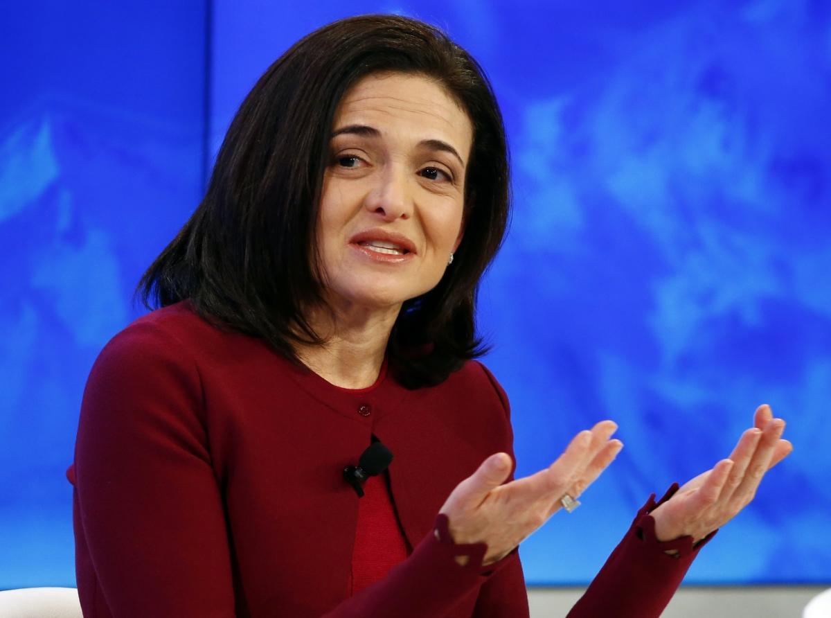Facebook Sheryl Sandberg Isis