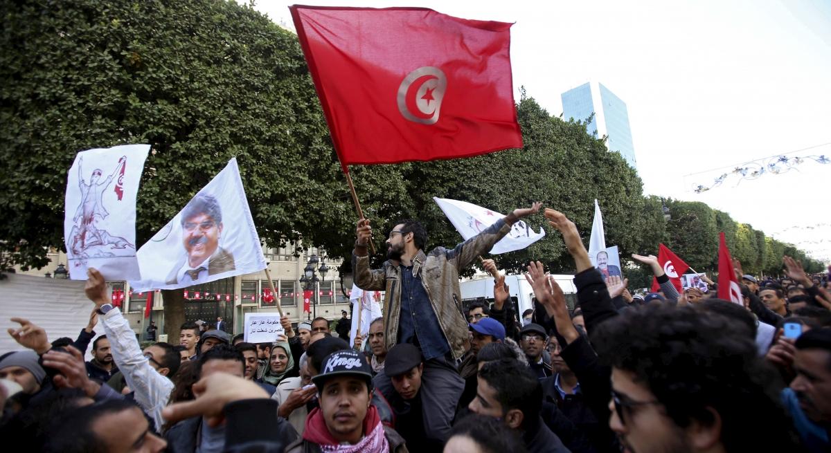Habib Bourguiba Avenue in Tunis