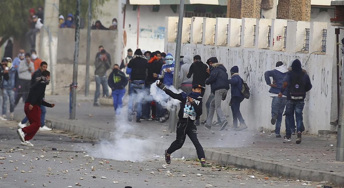 Tunisia protest