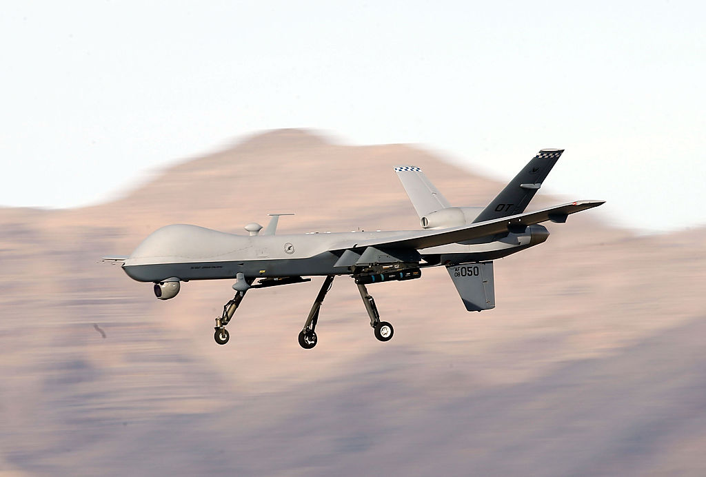 US military drone crash mystery