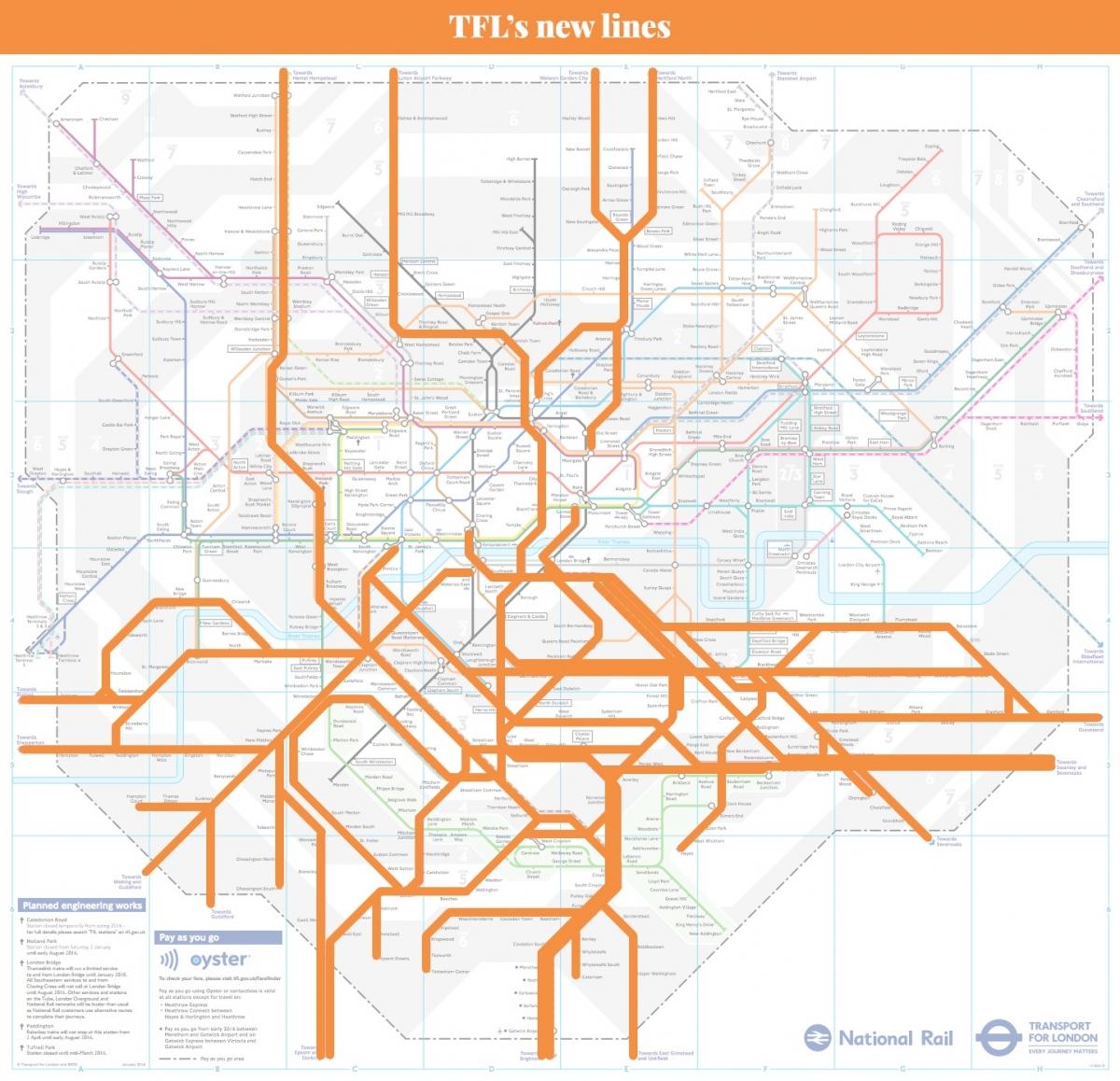 London rail plan