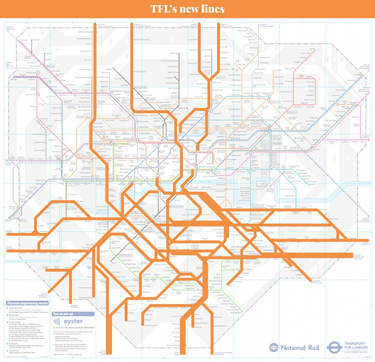 London rail plan