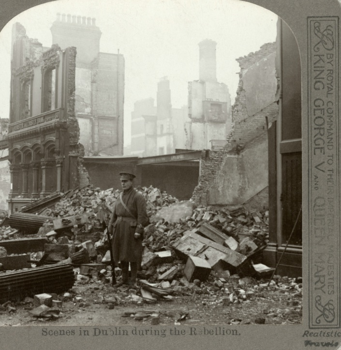 Shell Photography Exhibition : Easter rising centenary rare photos of bombed out