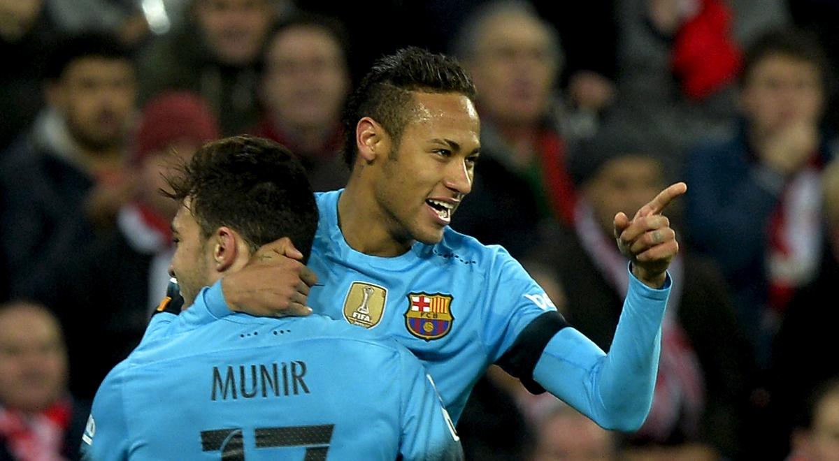 Munir El Haddadi & Neymar