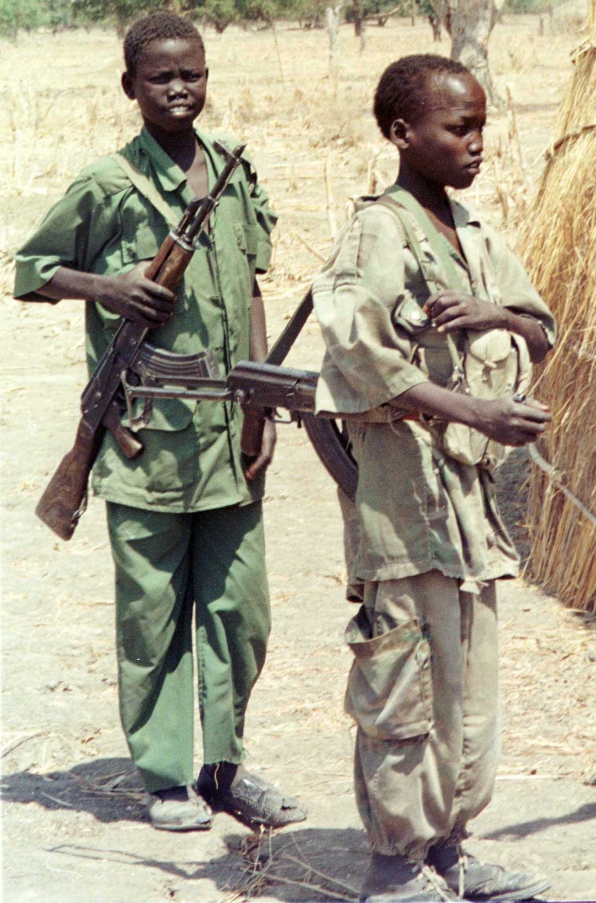 child soldiers Ten countries were using child soldiers in 2013 in government military operations , compared to seven in the 2012 these ten are the central african republic,.