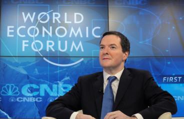 Osborne in Davos
