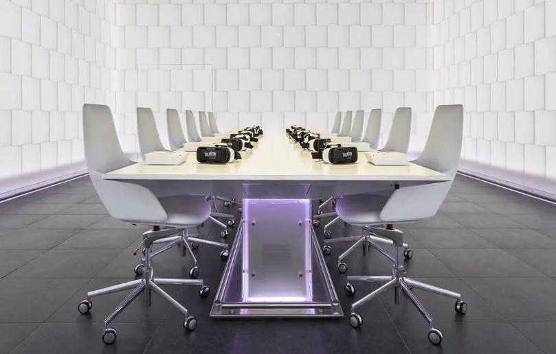 Samsung Gear VR dining