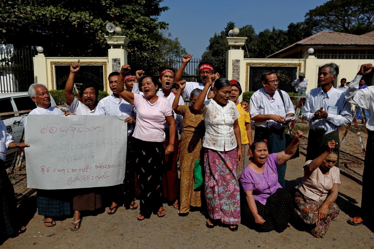Myanmar political prisoners
