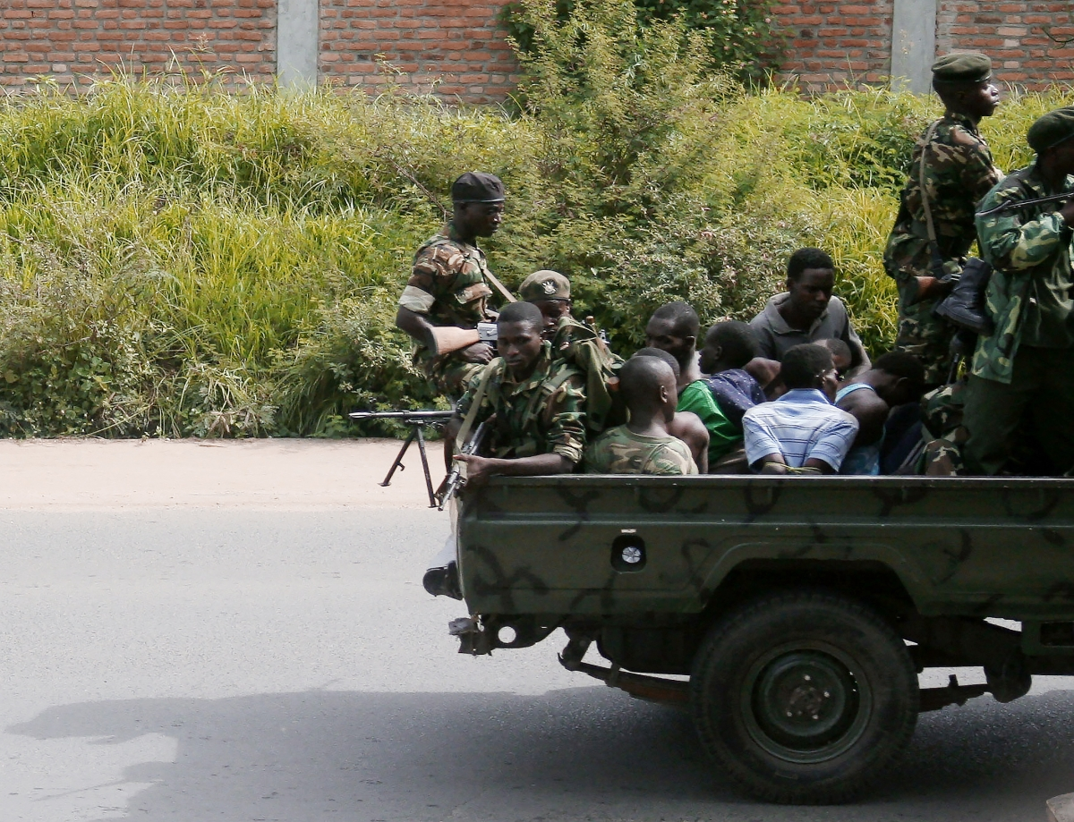 Burundi's armed rebel groups