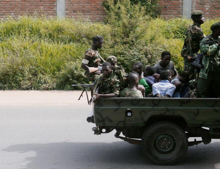 Burundi's armed rebel groups