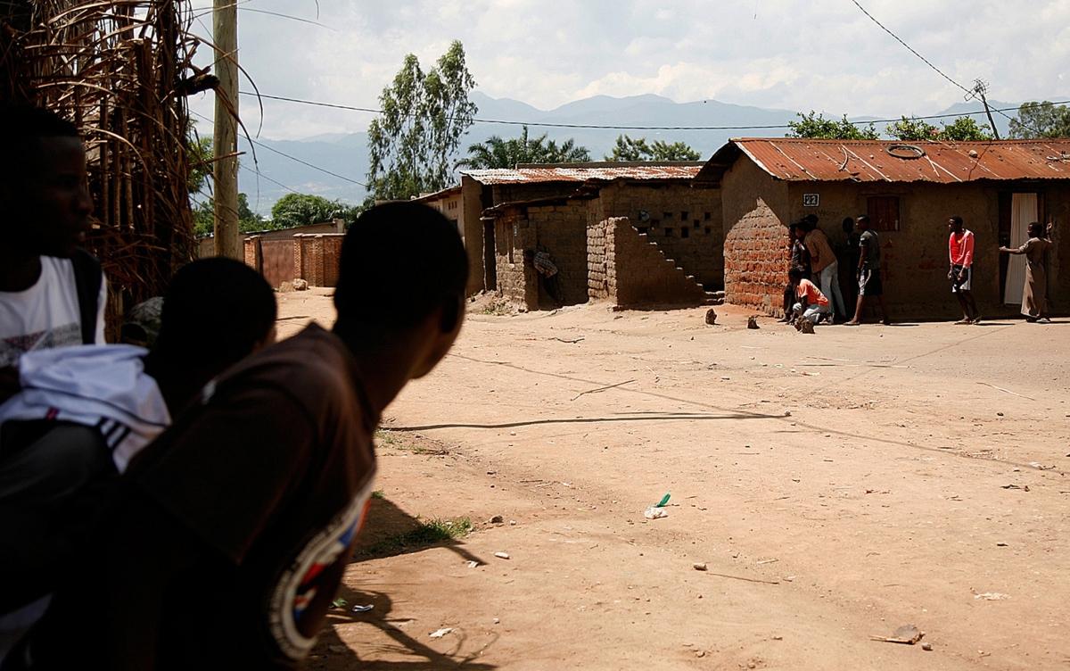 Burundi protesters violence