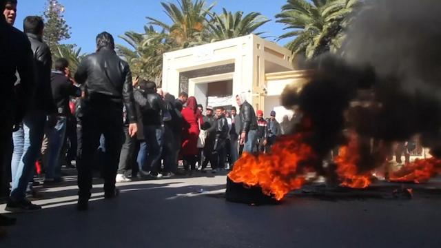 Tunisia riots