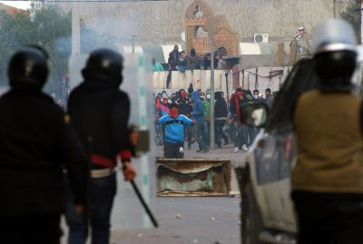 Tunisia protests