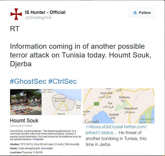 GSG collects data on Tunisia attack