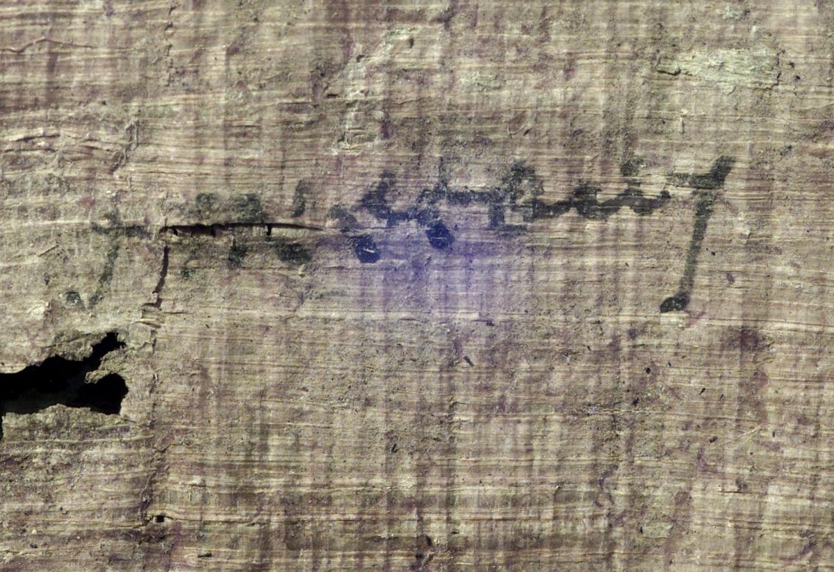 Cleopatra's handwriting