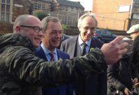 Nigel Farage and Peter Bone