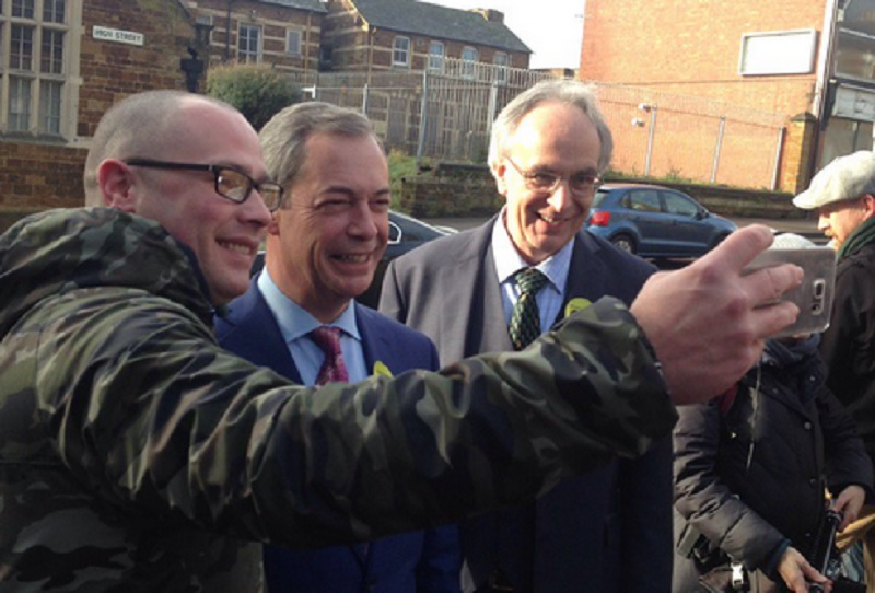 Nigel Farage and Peter Bone