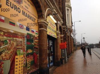 Polish supermarket in Wellingborough