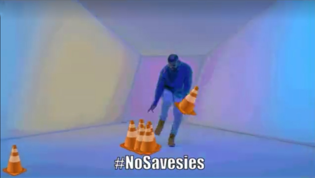 Philadelphia Police Department's #NoSavesies winter campaign