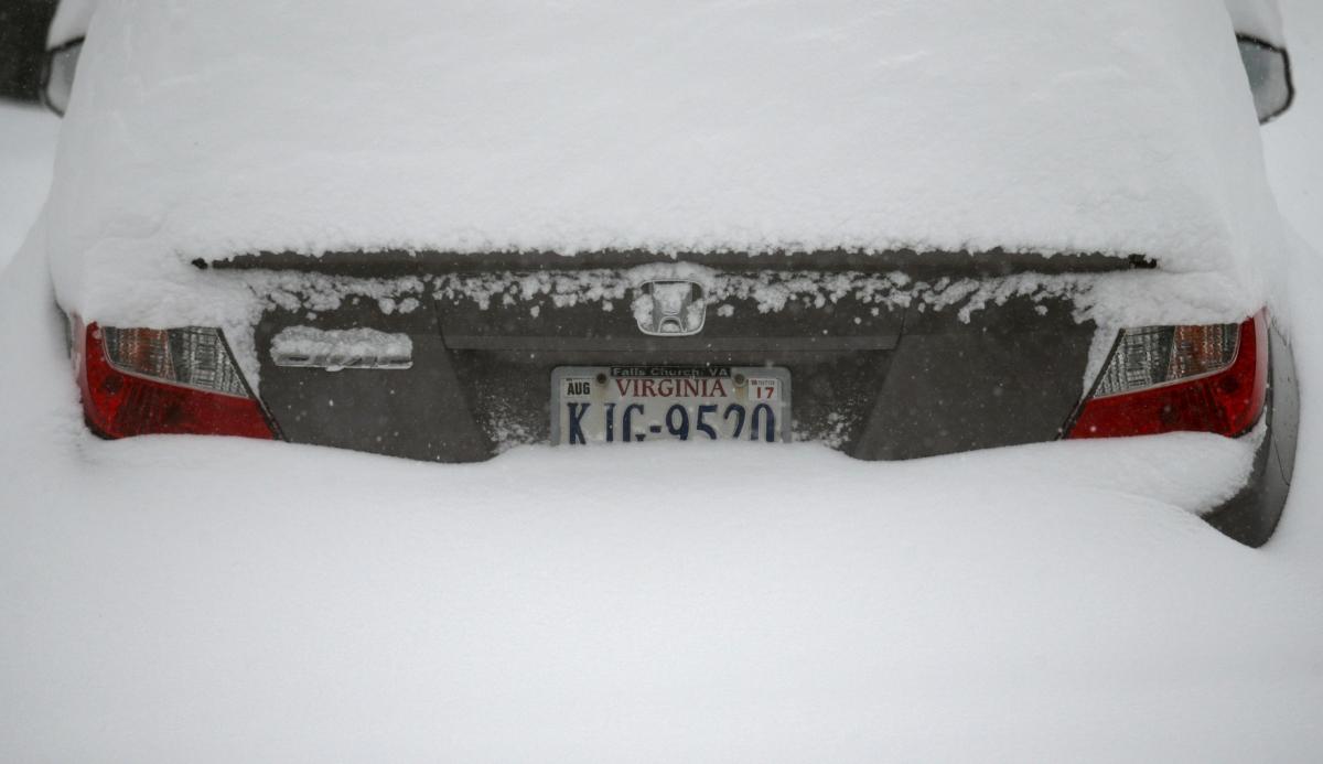 US Winter Storm Jonas