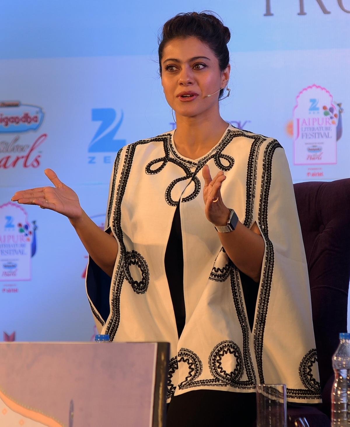 Kajol at Jaipur Literature Festival
