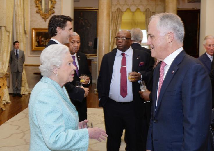 Queen Elizabeth II & Malcolm Turnbull