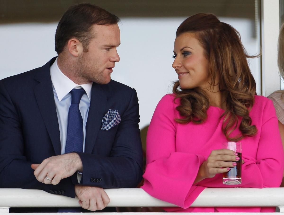 Wayne Rooney and wife Coleen