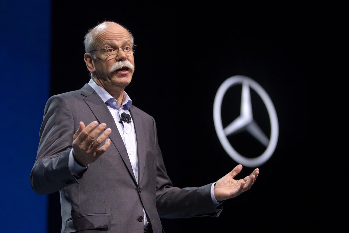 Daimler Mercedes boss Dieter Zetsche