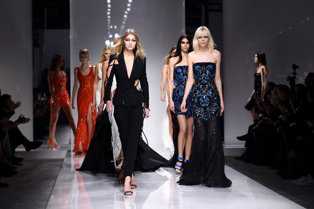 Haute Couture week versace