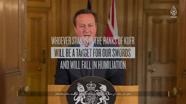 David Cameron in Isis video