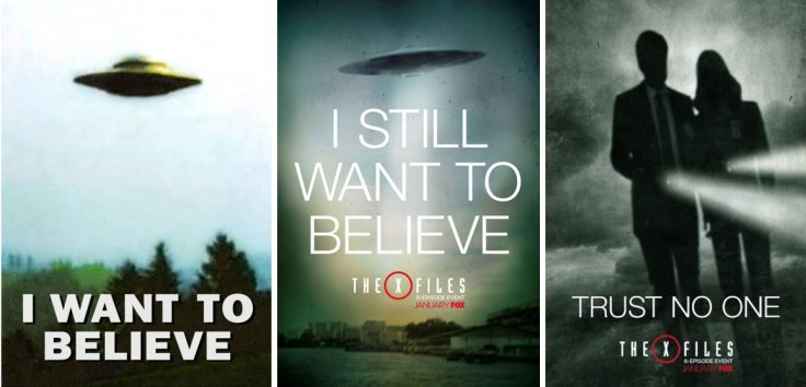 The X-Files posters