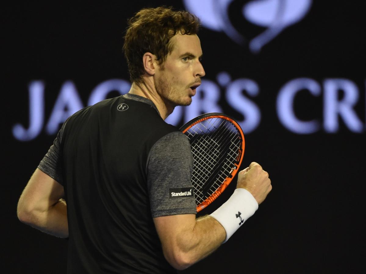 Australian Open 2016: Andy Murray overcomes Bernard Tomic to set up ...