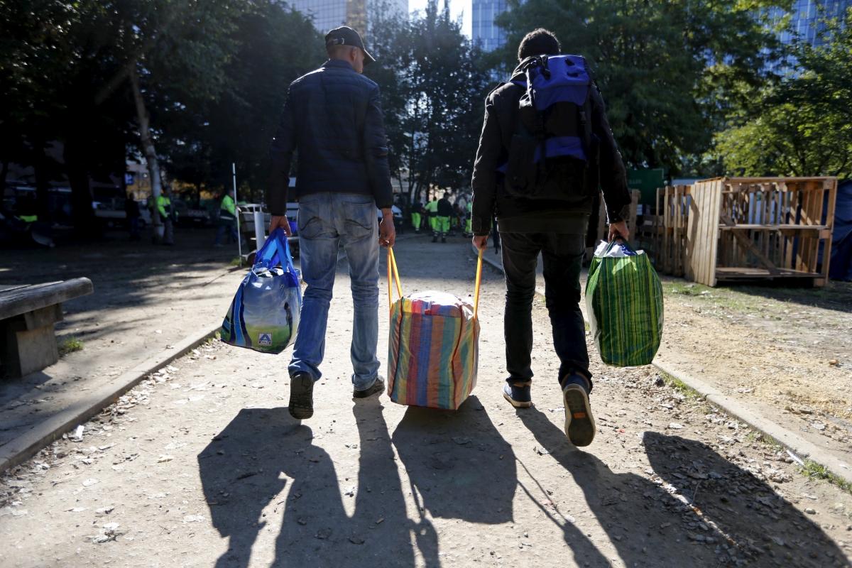 Refugees in Belgium