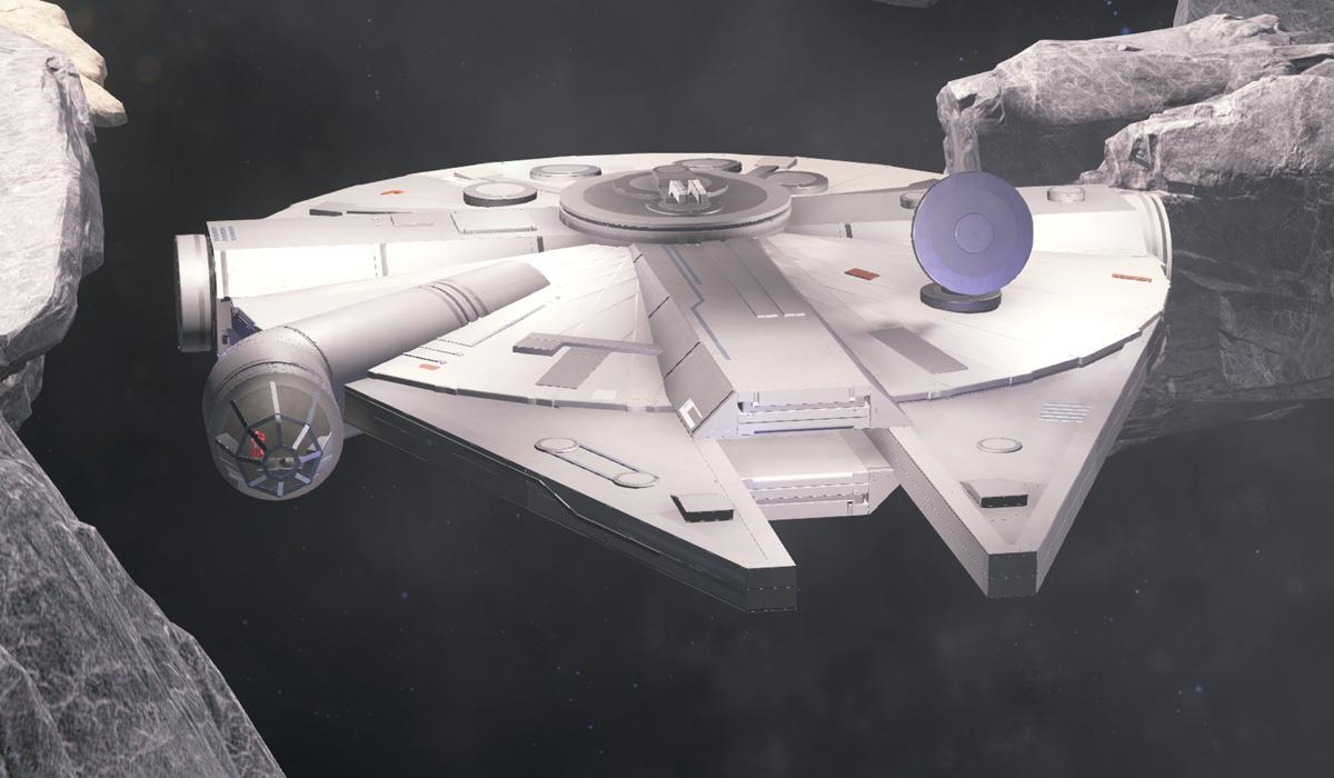 Halo 5 Millennium Falcon