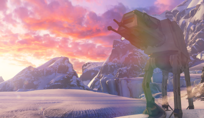Halo 5 Hoth AT-AT