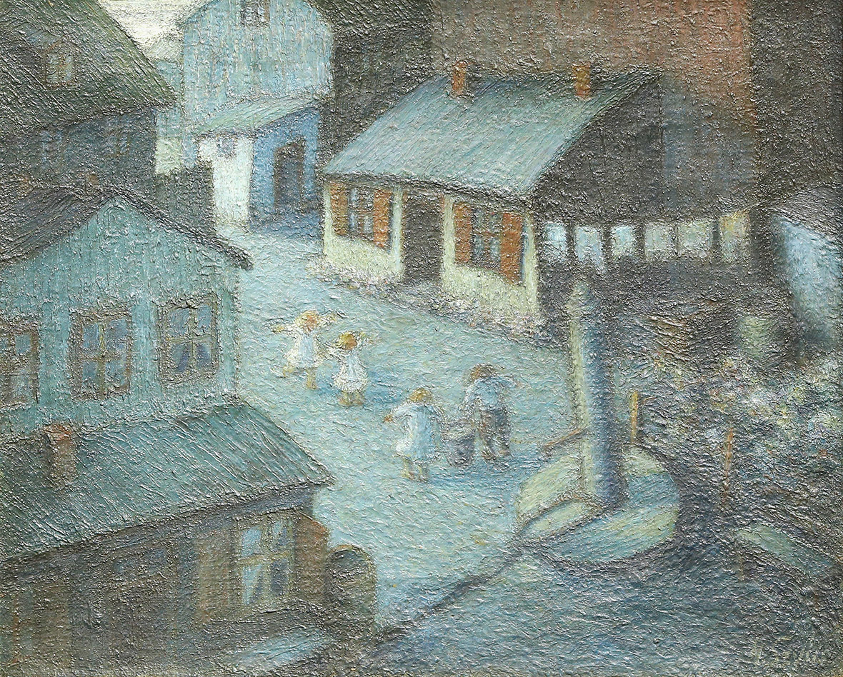 Holocaust Memorial Day 2016: Poignant paintings by Jewish ...