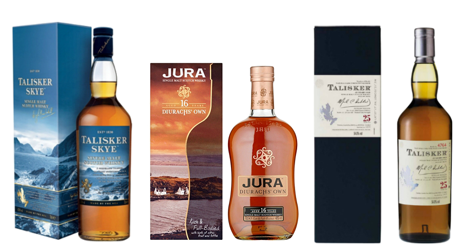 burns night whiskies