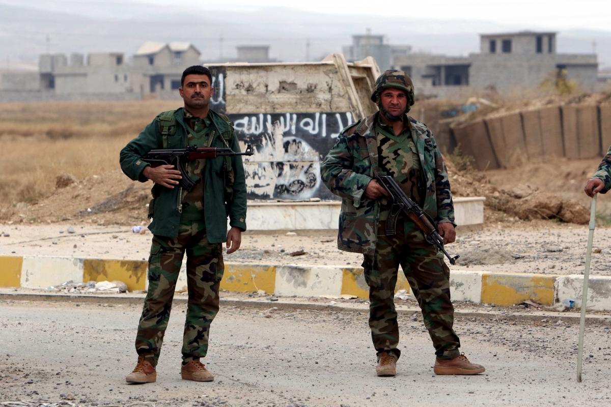 kurds peshmerga Iraq Isis Daesh