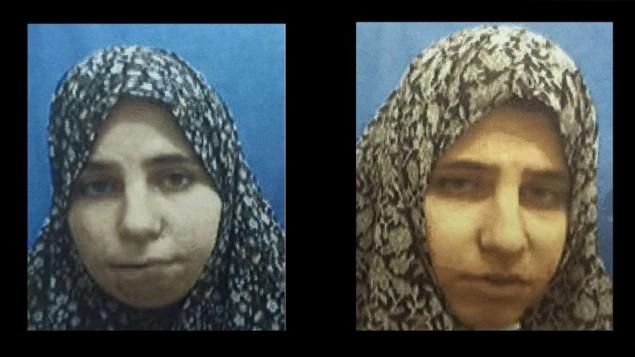 Palestinian twin sisters Diana and Nadia Hewila
