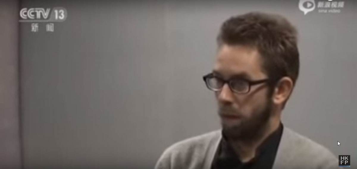 Swedish activist Peter Dahlin
