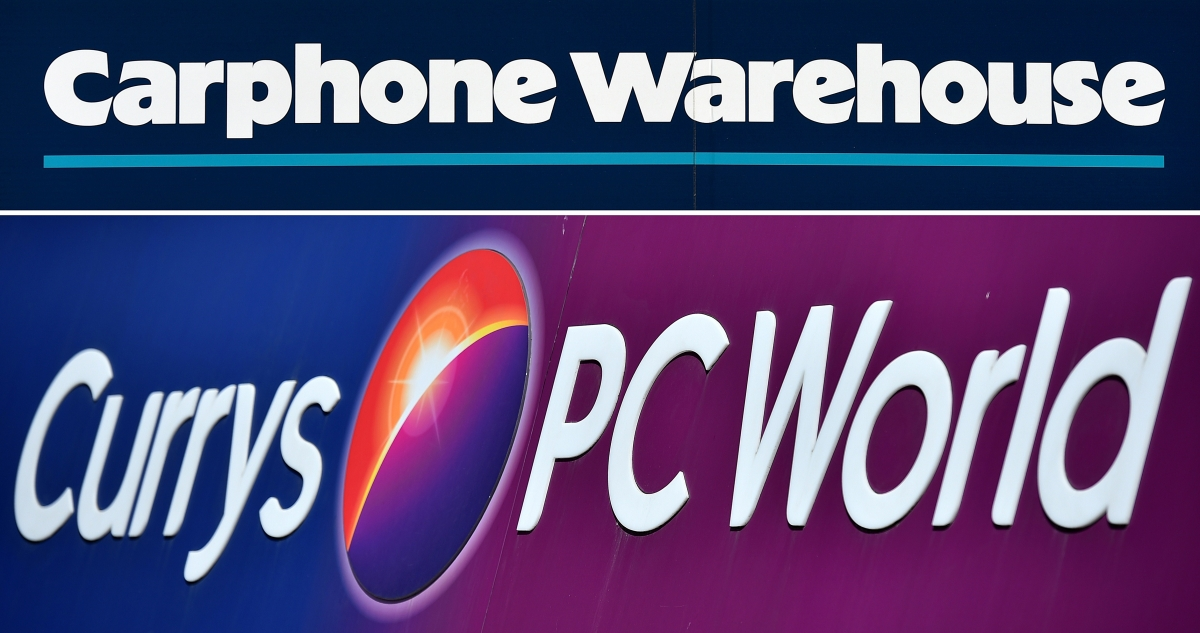 Currys PC World Carphone Warehouse