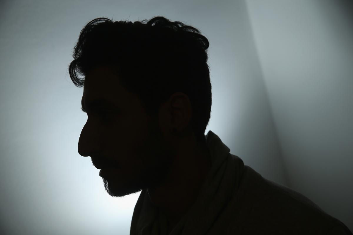 A gay asylum seeker