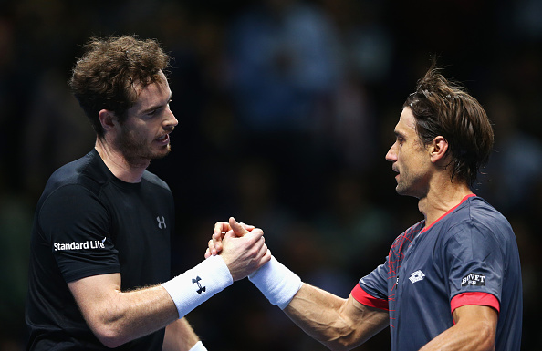 Andy Murray and David Ferrer