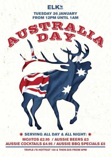 Australia Day where to celebrate in london