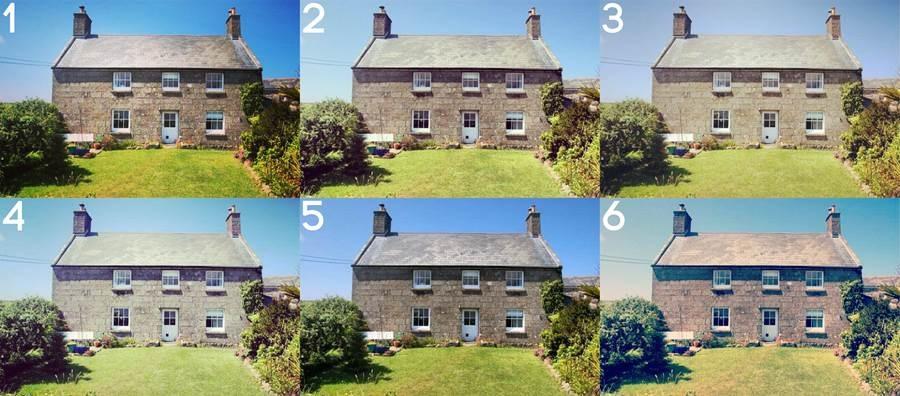 Instagram filters housing estate agent
