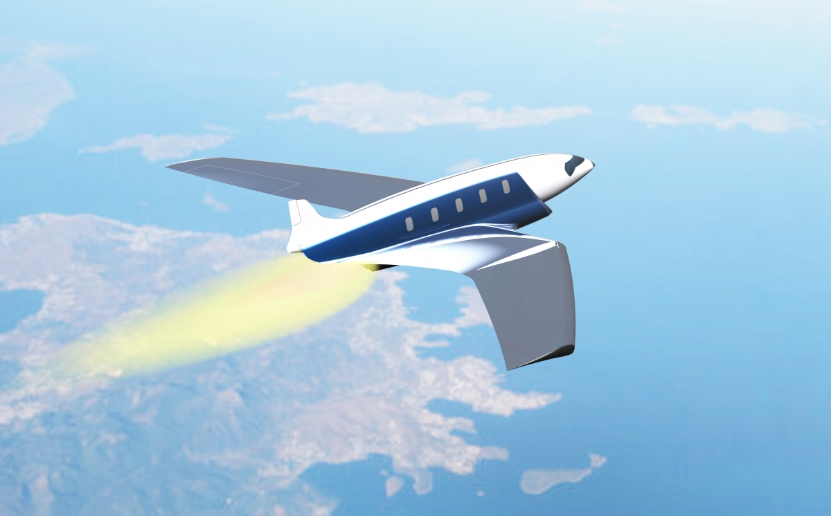 Future aeroplane design could see travel from London to New York in 11 minutes